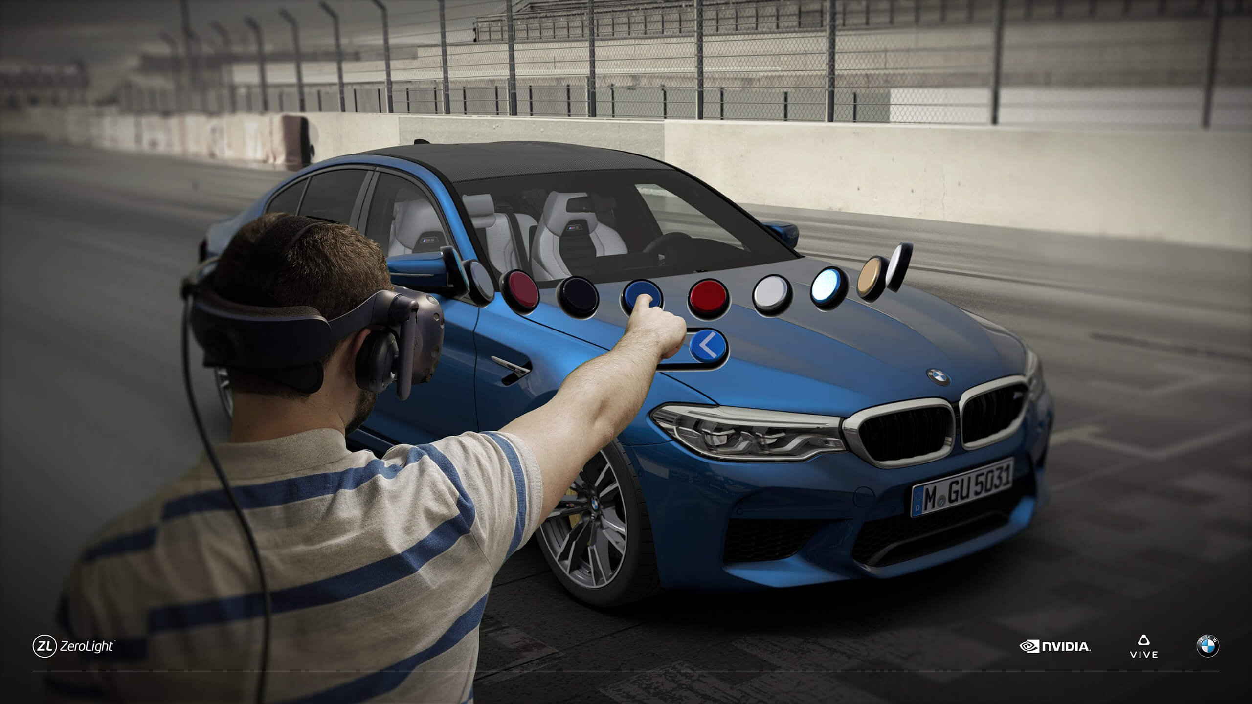 VIVE BMW Zerolight VR Collaboration
